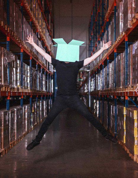 Smartup flexible Logistik – Unser Hochlager